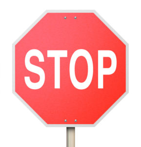 Trust Lockdown Stop Sign